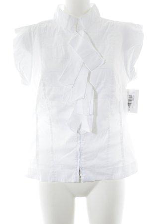 Blacky Dress Camicetta a maniche corte bianco stile professionale