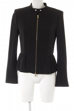 Blacky Dress Short Jacket black-gold-colored casual look