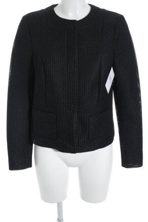 Blacky Dress Kurzjacke schwarz Punktemuster Business-Look