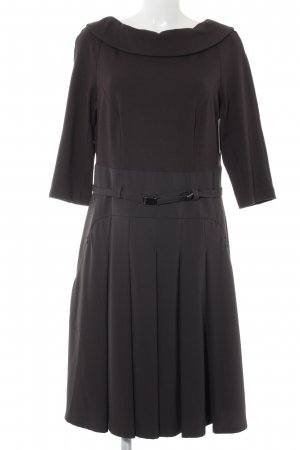 Blacky Dress Langarmkleid taupe Elegant