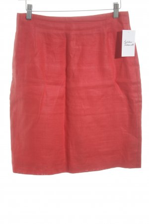 Blacky Dress Linen Skirt red classic style