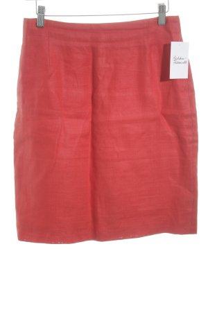Blacky Dress Leinenrock rot klassischer Stil