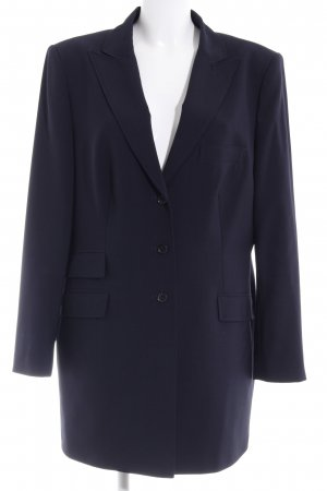 Blacky Dress Blazer largo azul oscuro estilo «business»