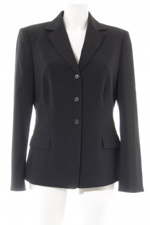 Blacky Dress Long-Blazer schwarz Business-Look