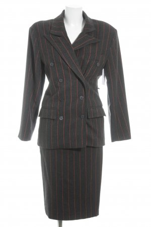 Blacky Dress Pinstripe Suit striped pattern business style
