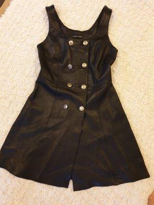 Blacky Dress Leren jurk zwart Leer