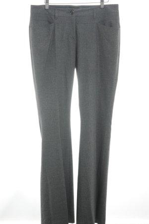Blacky Dress Pantalone jersey grigio scuro puntinato stile professionale
