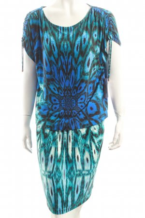 Blacky Dress Stretchkleid psychedelic-Muster Hippie-Look