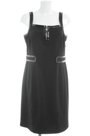 Blacky Dress Abito scamiciato nero elegante