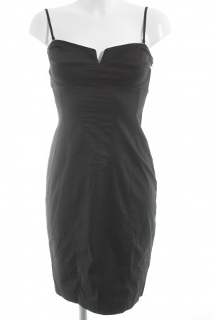 Blacky Dress Vestido tipo overol negro elegante
