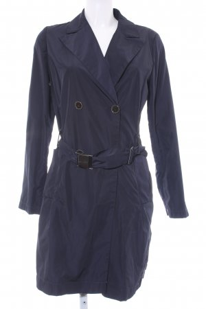 Blacky Dress Gabardina azul oscuro look casual