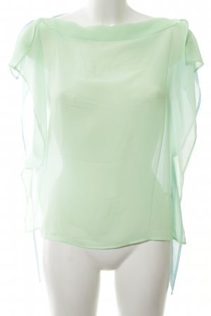 Blacky Dress Tunikabluse grün-türkis Transparenz-Optik
