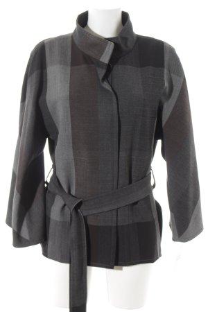 Blacky Dress Between-Seasons Jacket check pattern casual look