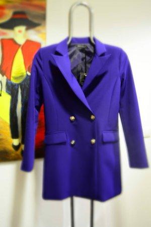 Ancora Blazer en jersey violet foncé