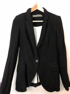 Zara Basic Sweat Blazer black