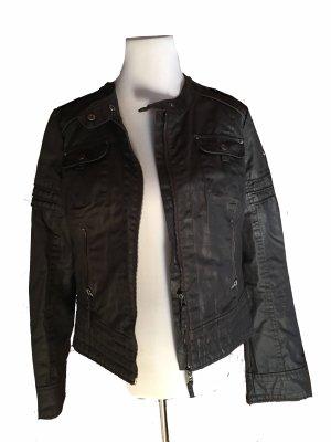 Biker Jacket black brown