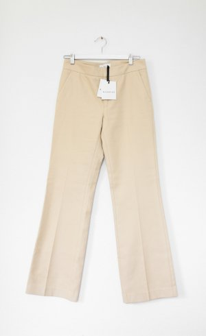 Pleated Trousers cream