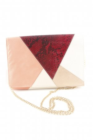 Blanco Clutch Animalmuster Business-Look