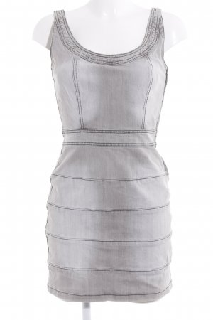 Blanco Denim Dress grey-light grey casual look