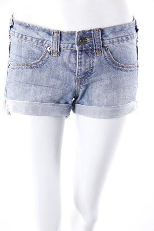 Blanco denim shorts roll-up hem