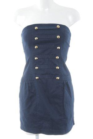 Blanco Minikleid dunkelblau Marine-Look
