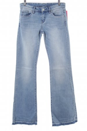Blank NYC Denim Jeans svasati blu stile casual