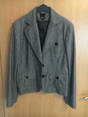 esprit collection Knitted Blazer black-grey