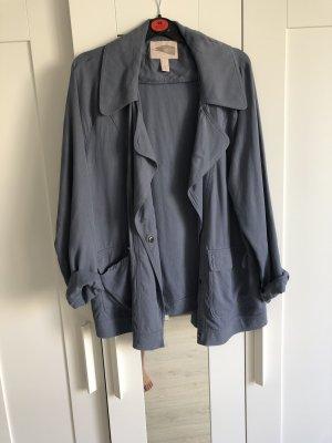 Forever 21 Oversized Jacket slate-gray