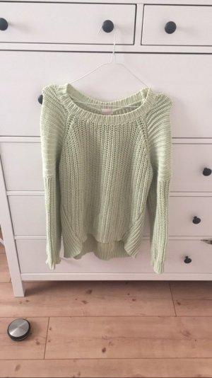 Blassgrüner (Pastelgrün) Pullover von H&M