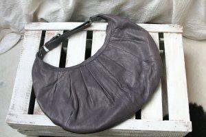 Blasslila Ledertasche, Handtasche, Tasche, Leder, lila
