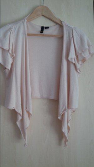 H&M Bolero lavorato a maglia rosa antico