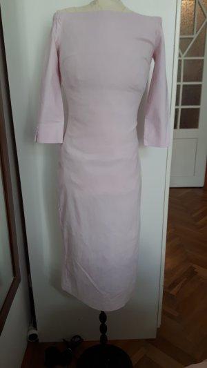 blassrosanes eng anliegenes Kleid von ZARA (Basic)