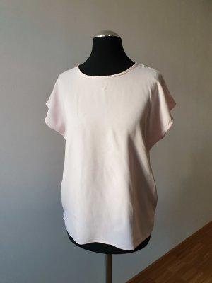 Mouwloze blouse rosé