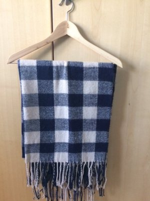 Mango Scarf oatmeal-dark blue no material specification existing