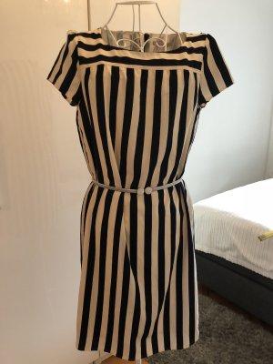 Blau/Creme gestreiftes Esprit Kleid- Größe 36