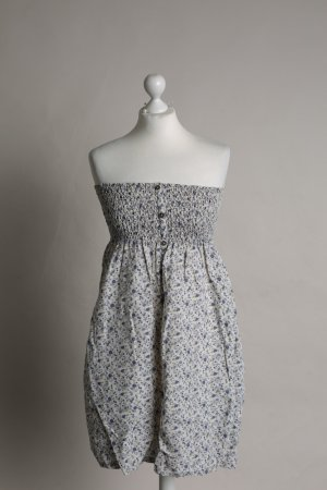 Blau geblümtes Kleid von Mango Casual Sportswear NEU