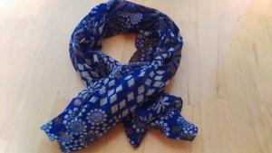 Foulard bleu foncé coton