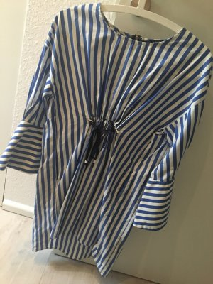 Blau-gestreiftes Kleid von Zara