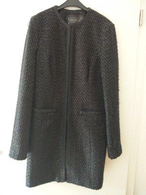 Esprit Abrigo de lana azul oscuro-color oro Lana