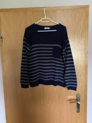 AJC Crewneck Sweater dark blue-slate-gray