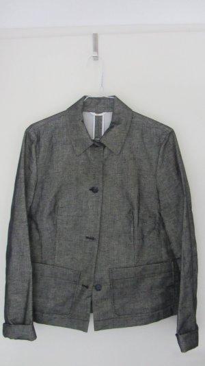 Blau/grau Jacke aus Leinen von Toni Gard Grösse 36