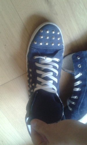 Blau-graue Sneakers von Diva / Biondini Shoes