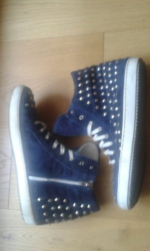 Blau-graue Sneakers von Diva / Biondini Shoes
