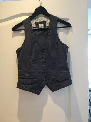 Blau-graue Weste von H&M, Größe 36