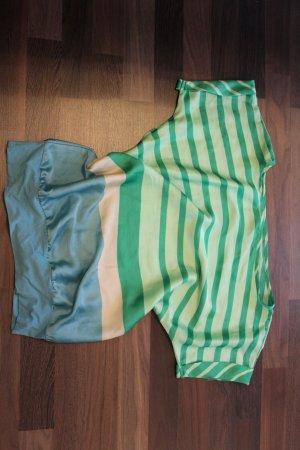 blau, grün gestreiftes kurzarm Shirt/Bluse
