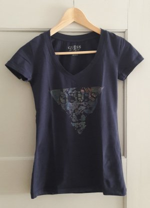 Blau Guess T - Shirt