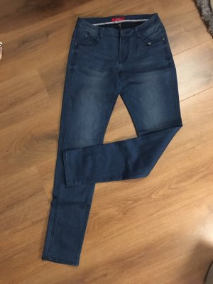 Blau Jeans Röhrenjeans 36 S s.Oliver Skinny Stretch