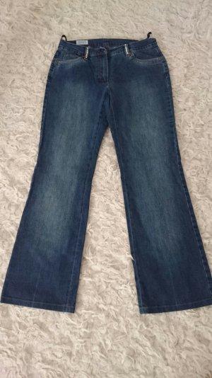 Blau Jeans von Basler Gr 38