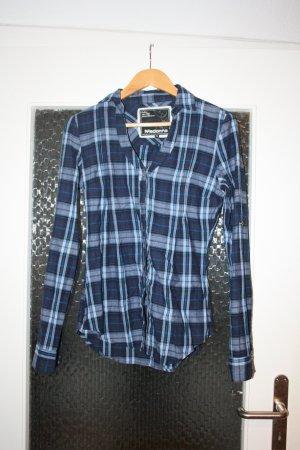 Madonna Shirt Blouse neon blue-dark blue
