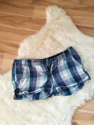 blau karierte Shorts Gr. 34/36